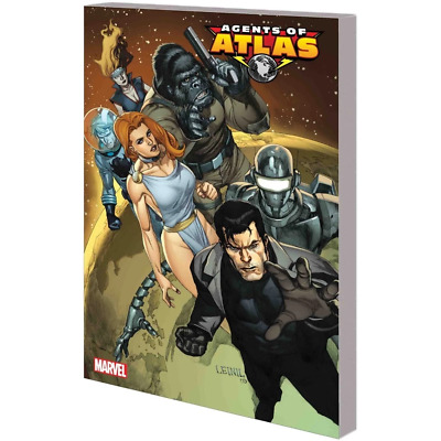 Agents Of Atlas Complete Collection 01 Tpb - Brand New