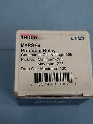 Mars 66 19005 Potential relay. New from old stock