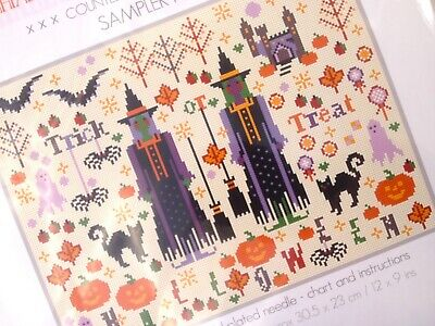 """/""""Paris SILHOUETTES/"""" Counted Cross Stitch Kit Four 869"""