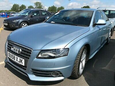 58 Audi A4 2.0 Tdi S-Line - 1/2Leather, Alloys, Climate, P/Sensrs, Mint