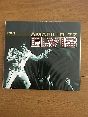 Elvis Presley Amarillo 77 ftd cd brand new and sealed - fast dispatch