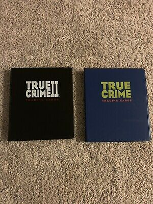 1992 TRUE CRIME CARDS SETS BOTH SERIES #1(1-110)& SERIES #2(111- 220) - Eclipse