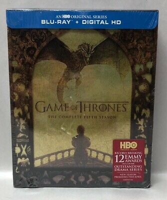 Game of Thrones: The Complete Fifth Season (BLU-RAY + Digital HD)