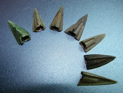 Ancient  arrowheads  bronze. RARE. ORIGINAL 13(S)
