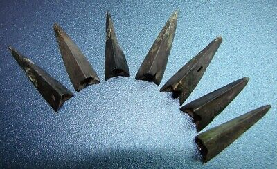 Ancient  arrowheads  bronze. RARE. ORIGINAL 17(S)