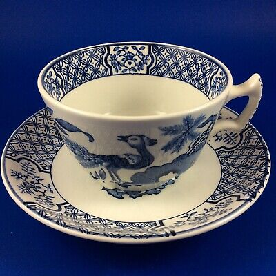 Wood & Sons Yuan Blue And White Tea Cup(s) And Saucer(s) - 3 Available