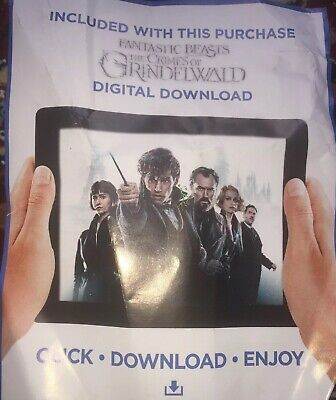 Fantastic Beasts The Crimes of GRINDELWALD 2019 Download HD code No DVD/Blu ray