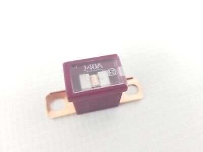 FLD140 Fuse 140A Maroon Burgundy Dk Pink Bent Bolt-on Style Link Auto