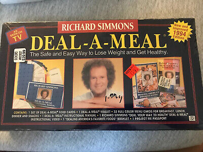 Richard Simmons Deal-A-Meal Vintage 1993 NEW SEALED BOX