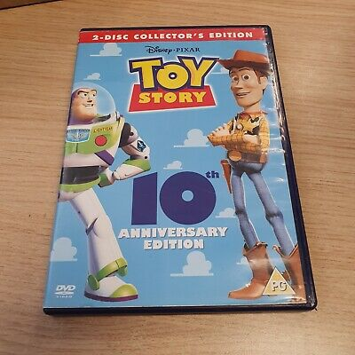 BOXED --- Walt Disney Toy Story 2 Disc Collector's Edition 10TH ANNIVERSARY DVD