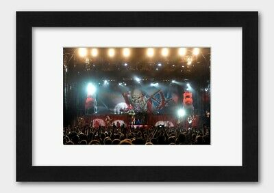 Iron Maiden - On Stage At the Soundwave Music Festival 2011 Poster 3