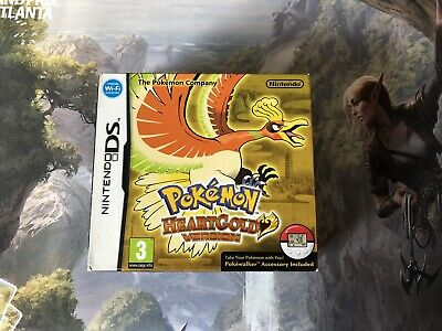 Pokemon: HeartGold Version (2010) - Nintendo DS - Boxed Complete with Pokewalker