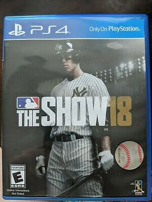 MLB: The Show 18 (Sony PlayStation 4, 2018) Includes 3 codes *See Picture*