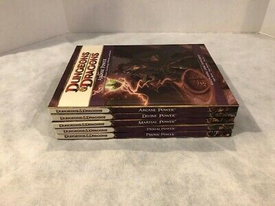 Dungeons and Dragons 4th Ed Powers Bundle