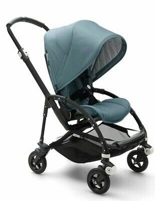 Bugaboo Bee 5 Track Pushchair on Black Chassis + Free iCandy  Newborn Set
