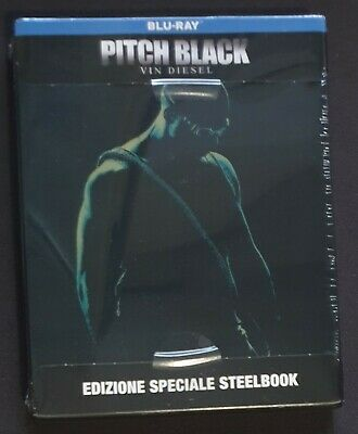 Pitch Black 2000 Blu-ray Limited Edition Steelbook new sealed Riddick