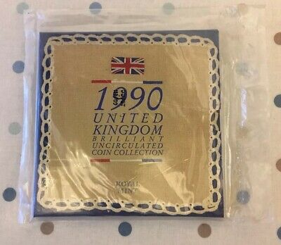 1990 United Kingdom Brilliant Uncirculated 8 Coin Collection