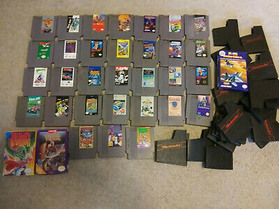 HUGE Nintendo NES Games Lot CIB Dragon Warrior Super Mario Bos. RARE opportunity