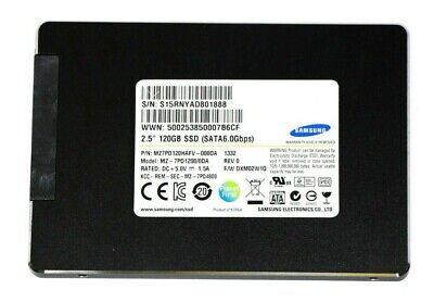 """Samsung 120GB SSD 2.5"""" SATA-III 6.0Gbps MZ-7PD1200 Solid State Laptop / PC Drive"""