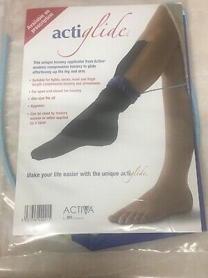 Activa Acti-glide Compression Hosiery Stocking Applicator New