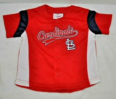 St. Louis Cardinals 2T Jersey Shirt MLB Merchandise NWOT Free Shipping to USA