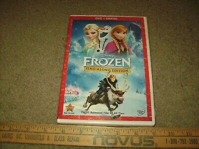 Frozen (DVD, 2014, Sing-Along Edition Includes Digital Copy) Sealed DVD. No Res.