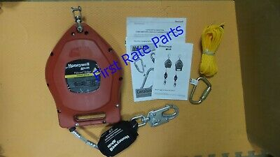 Miller MP30G-LE Self-Retracting Lifeline Honeywell SRL Fall Limiter Safety 30 FT