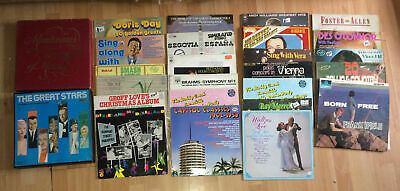 Large Collection Vinyl LPS Job LOt House Clearance 24 LP's and two box sets