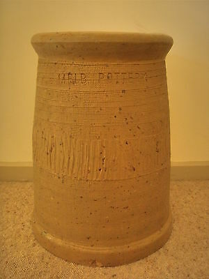 Antique / Vintage Australian Melbourne Pottery Chimney Pot - Signed