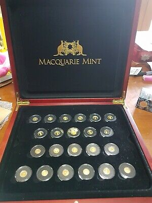 Worlds Smallest Gold Coin Set 22 Coins