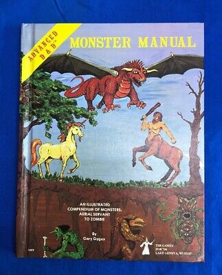 Advanced Dungeons and Dragons - Monster Manual New Unread Near Mint D&D