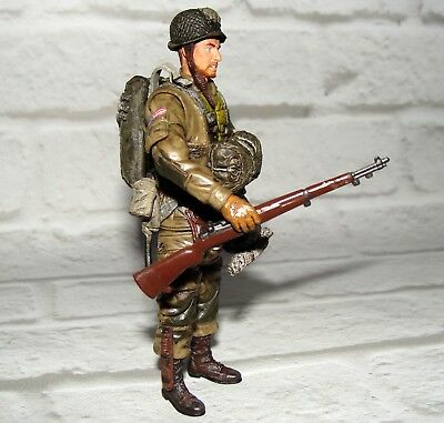 WWII US 82nd Airborne w//50 cal PTE Ramirez BBI 1//18th Scale Free US Shipping