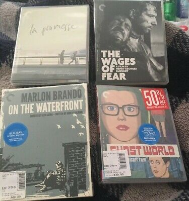 Criterion Collection Bluray Lot: Ghost World, On The Waterfront, Wages Of Fear..