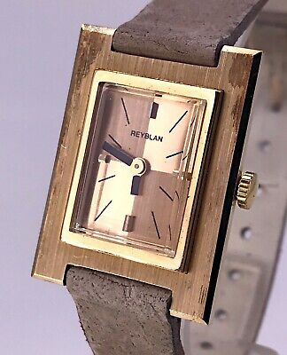 NOS Rayblan Cal. Fe Working Vintage Art Deco Manual Lady Watch 24,5 mm 3WC