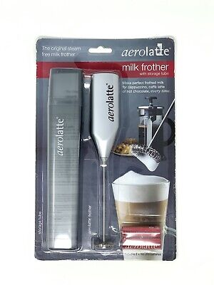Aerolatte Milk Frother  For A Perfect Cappuccino Or Latte With Storage Tube