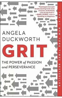Grit The Power of Passion and Perseverance by Angela Duckworth 9781501111112