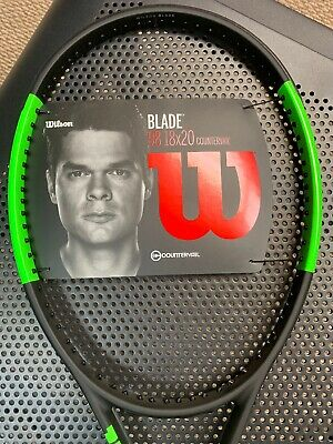 NEW WILSON BLADE 98 (18x20) Countervail 2018/2019 4 3/8 Tennis