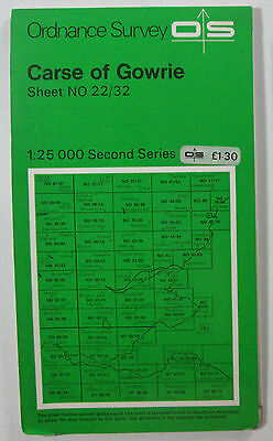 1979 Old OS Ordnance Survey Second Series 1:25000 Map Carse of Gowrie NO 22/32