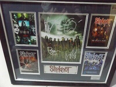 Limited Edition 359/500 Photo Of Slipknot.