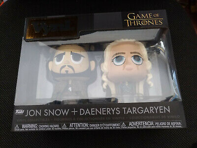 Funko Vynil John Snow + Daenerys Targaryen  Game Of Thrones  Nuovo