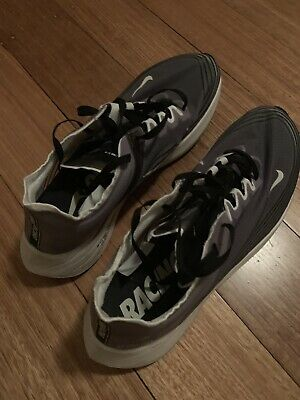 Nike Zoom Fly SP AJ9282 001 Mens Size Grey White Black Running shoes US11