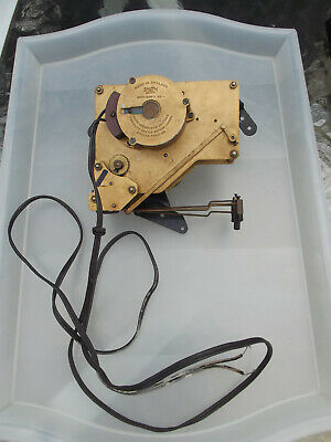 Smiths Sectric English Clock Movement - Spares or Repair - Vintage