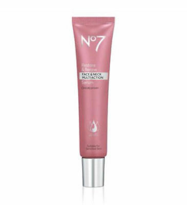 Boots No7 Restore and Renew / Face & Neck Multi Action Serum 30ml