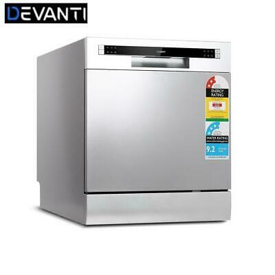 Devanti Benchtop Dishwasher 8 Place Setting Counter Bench Freestand No pack
