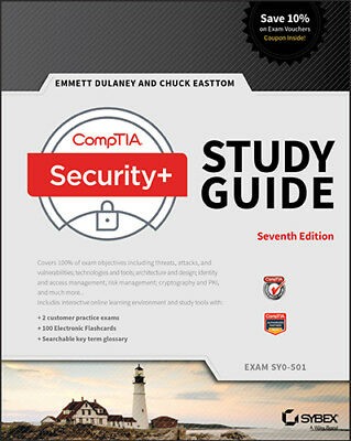 P.D.F CompTIA Security+ Study Guide: Exam SY0-501 7th Edition sent in 1 hour