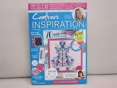 Crafters Companion Inspiration Magazine - Free £50 Kit CD etc - Issue 17 Spring