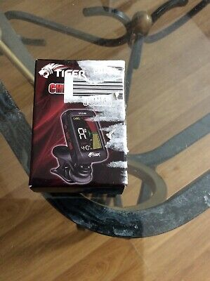 Chromatic Clip-on Guitar Tuner - Quality Guitar, Bass, Violin & Ukulele Tuner