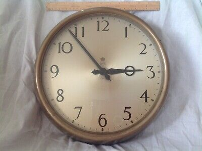 Gpo Gents Of Leicester Slave Clock  1956