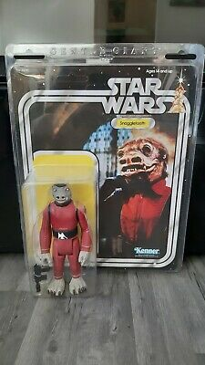 "Star Wars Kenner jumbo Gentle Giant 12"" Snaggletooth cantina figure"