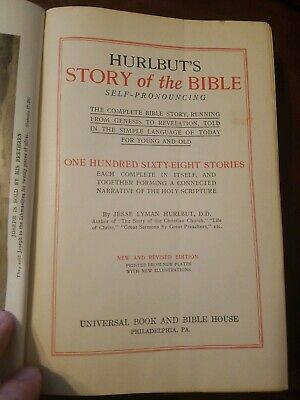 Hurlbut's Story of the Bible for Young and Old by Jesse Lyman Hurlbut Hardcover